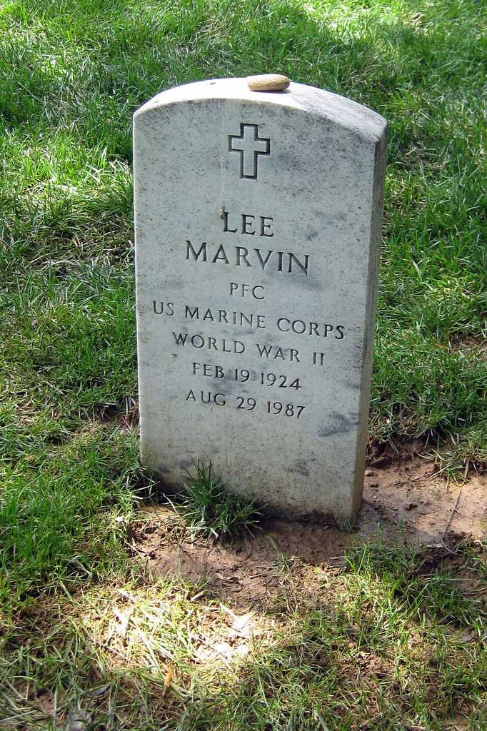 Virginia Arlington National Cemetery Lee Marvin Gravesi