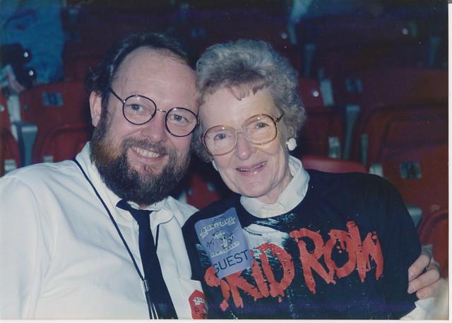 David & Doris Bierk @ Skid Row 1989 | My Dad David Bierk ...