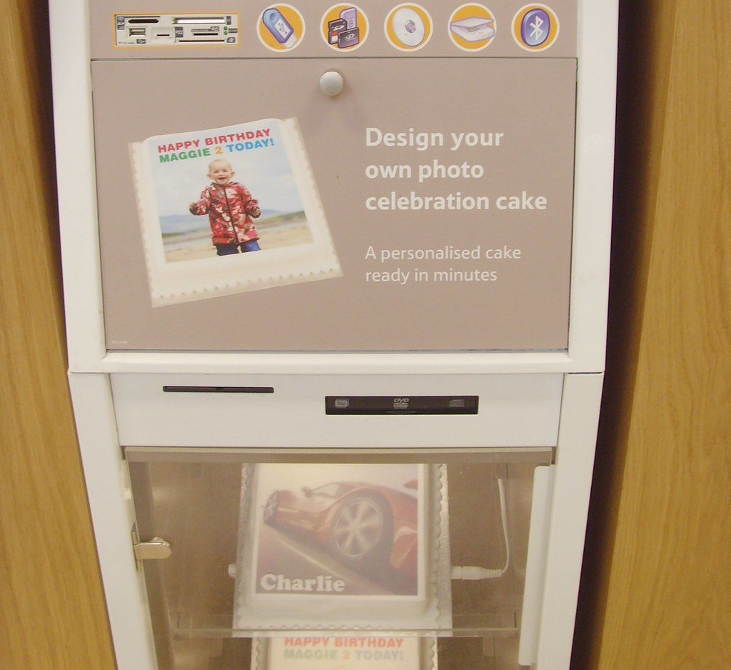 Design Your Own Cake Pop : Pop in your memory card and design your own photo cake ...