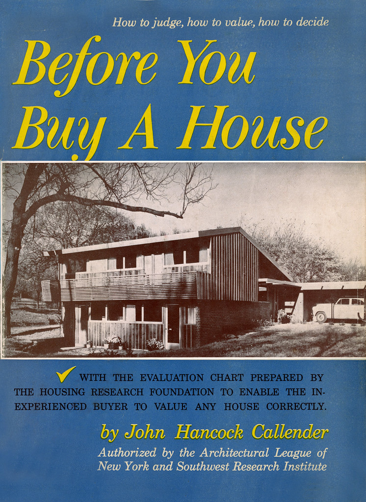 Before You Buy A House By John Hancock Callender