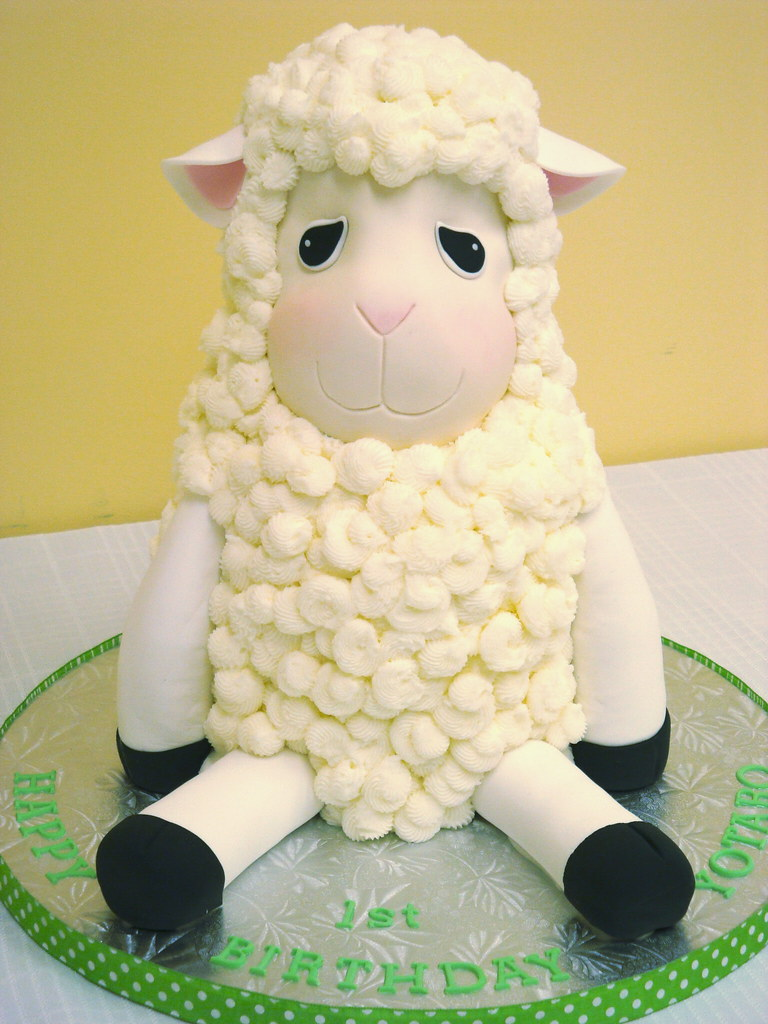 Little Lamb Cake I Made A Similar Cake For The Same