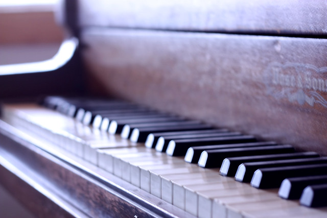 My favorite things... my piano.