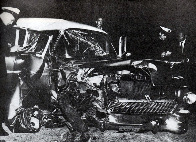 Montgomery Clift Car Accident
