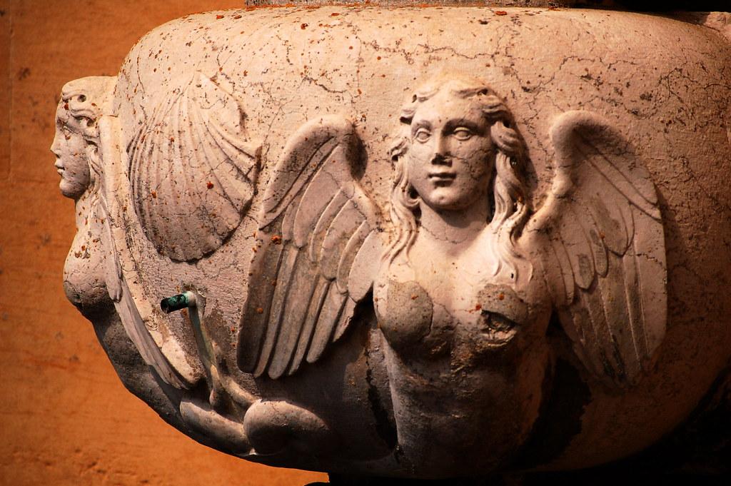 Harpies Greek Mythological Beasts At Belton House