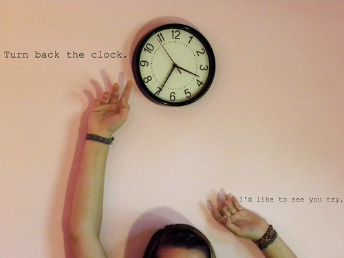 {360} You can't turn back the clock. But you can wind it up again | by Send me adrift.