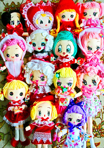 Valentines Day Dollies | by boopsie.daisy