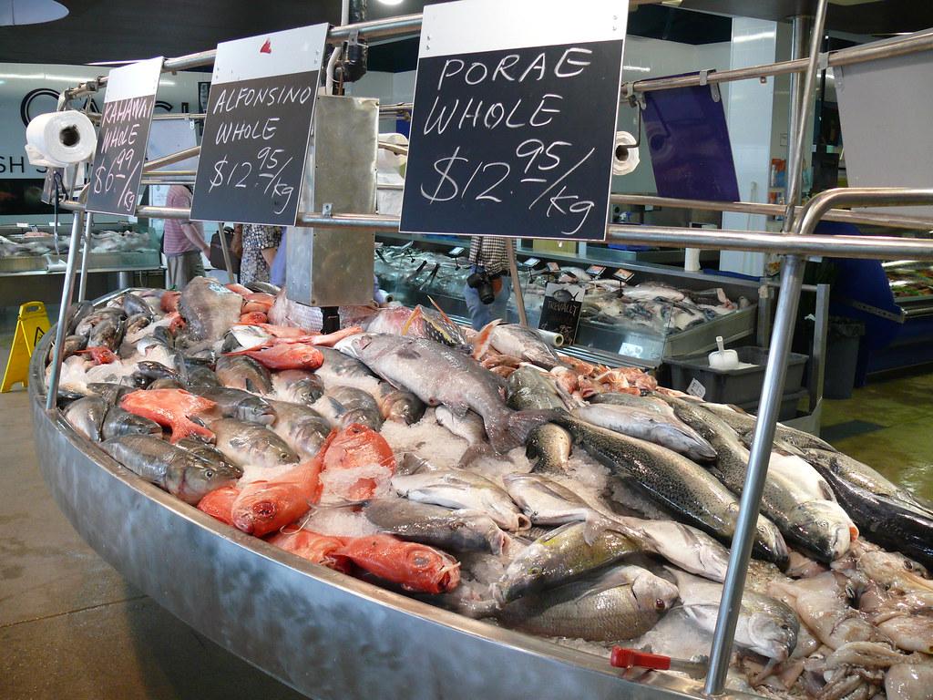Auckland Fish Market Auckland New Zealand Yasuhiro