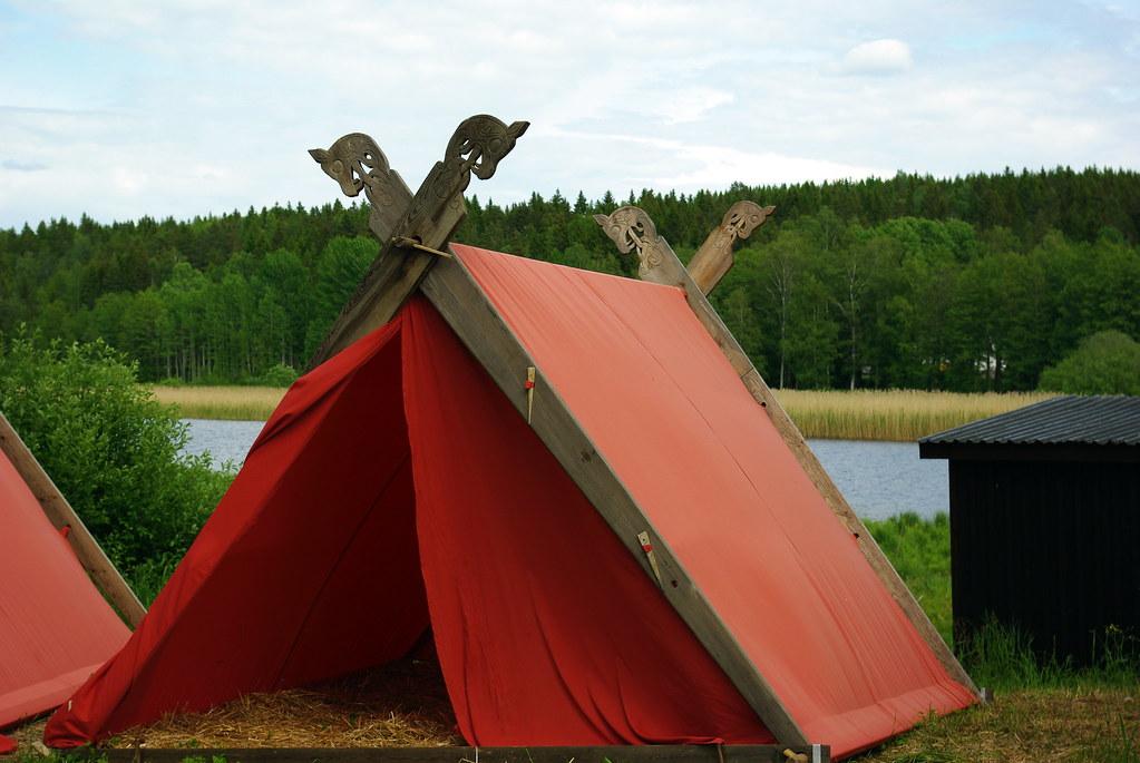 Viking Tent Carl Fredric Flickr