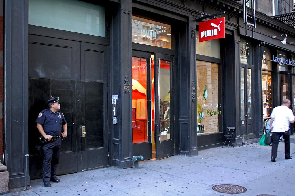 SoHo Description. Puma Store is located in the SoHo neighborhood of Manhattan. The historic SoHo neighborhood (