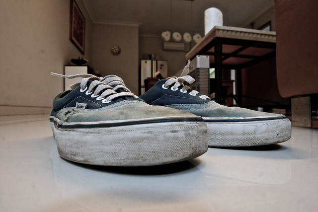 Vans Authentic Worn Out Worn Out Vans Worn out...