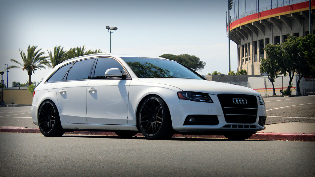 2009 Audi A4 Avant Lowered Chipped 19 Quot Rims And Exaust