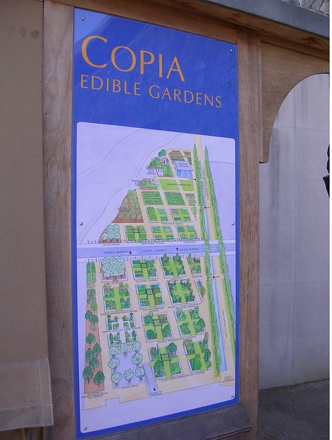 Copia American Center For Wine Food And The Arts Map Of