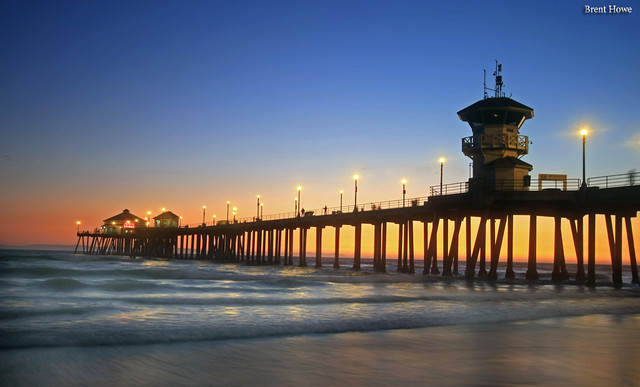 Huntington Beach Pier 1 Brent Howe Flickr