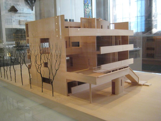 model of le corbusier u0026 39 s villa stein