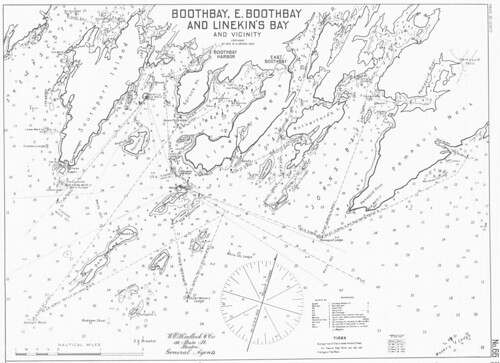 Boothbay, E. Boothbay and Linekin's Bay and Vicinity [Maine] | by uconnlibrariesmagic