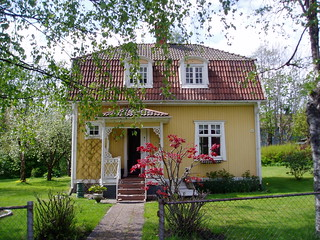 My Swedish house: front view in May 2007 | by victorious felines