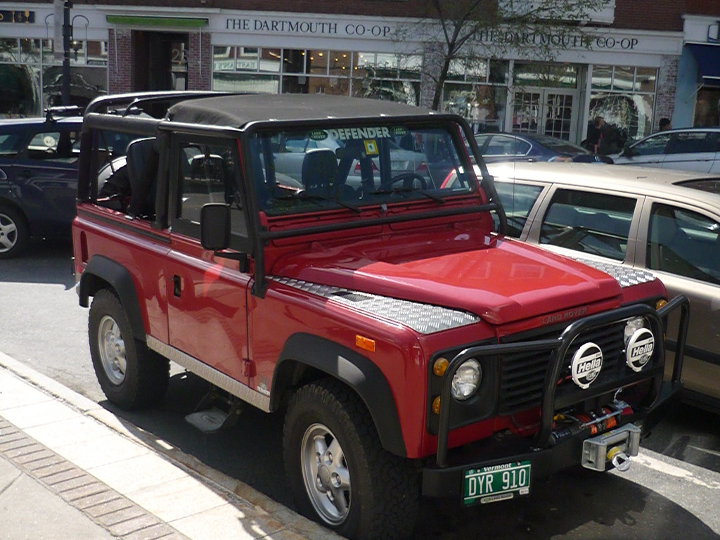 land rover defender seen in hanover new hampshire this i flickr. Black Bedroom Furniture Sets. Home Design Ideas