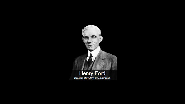 henry ford dyslexic who invented of modern assembly line flickr. Black Bedroom Furniture Sets. Home Design Ideas