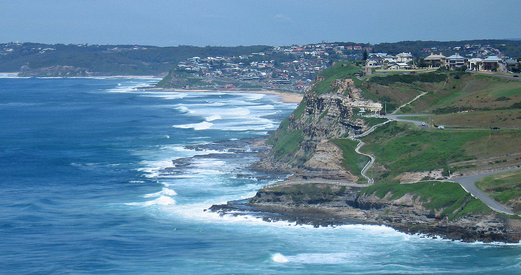 Newcastle coast | View large. From Newcastle Beach to the ...