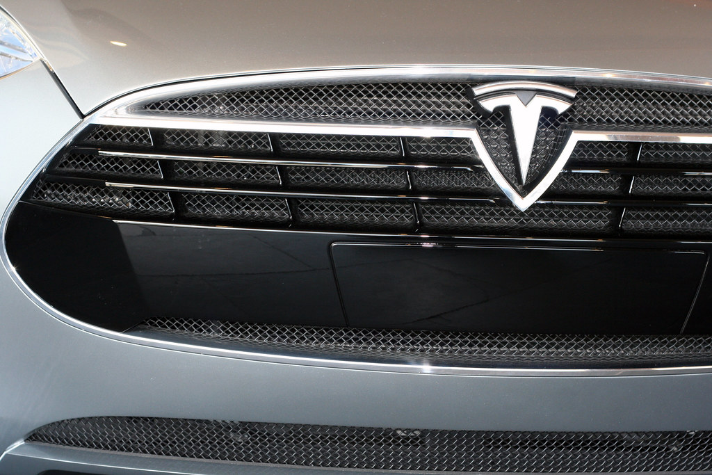 Tesla Model S Grille Niall Kennedy Flickr