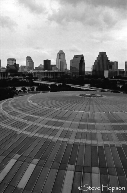 Austin Skyline And Palmer Auditorium Dome The Austin
