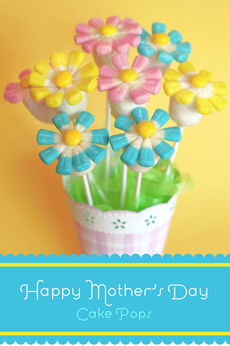 Flower Cake Pops | by Bakerella