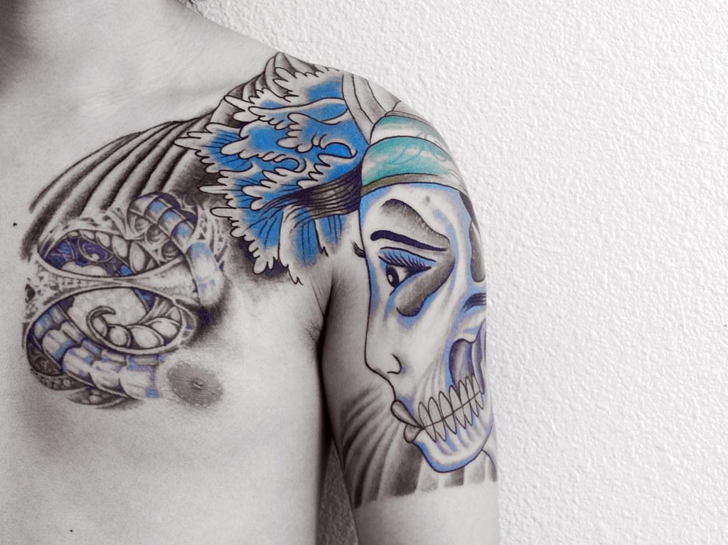 Tattoo tattoo was made by anchor tattoo ballard for Anchor tattoo seattle
