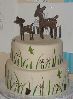Deer Amp Grass Baby Shower