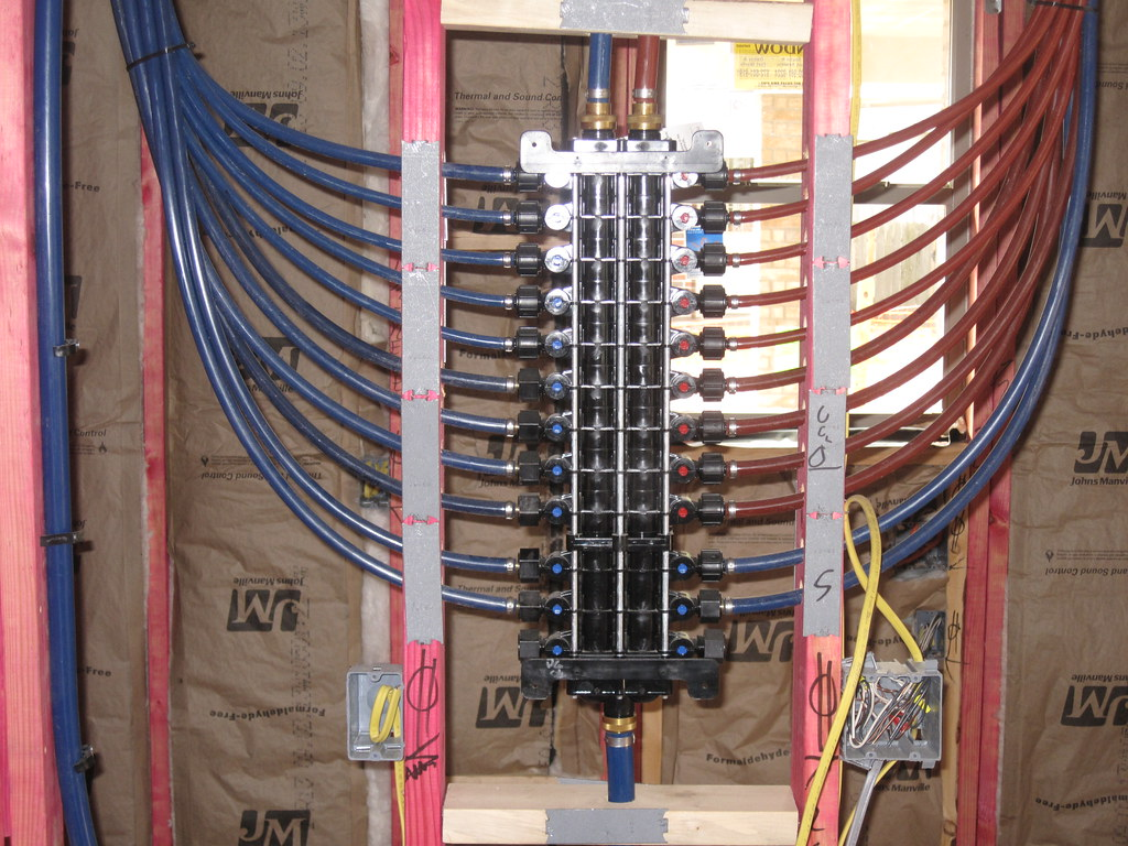 Pex Plumbing System Cross Linked Polyethylene Pex
