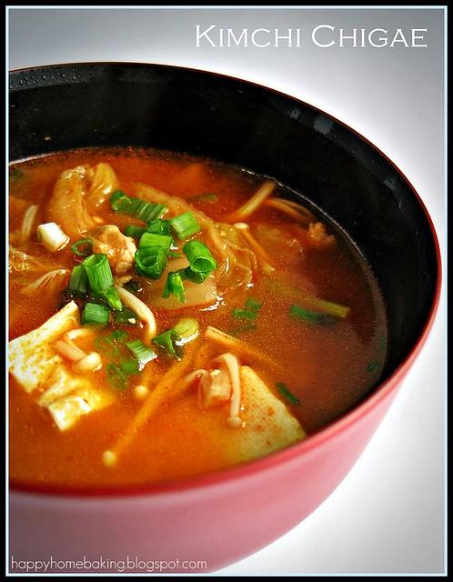 Kimchi Chigae | When I came across a kimchi chigae (or ...