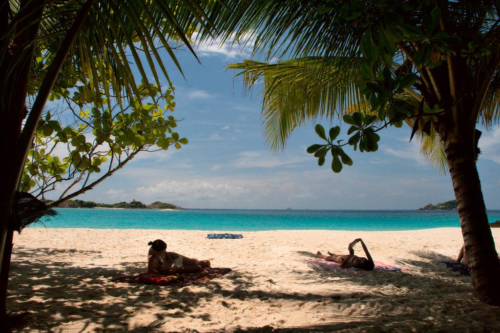 Tropical view at Redan...
