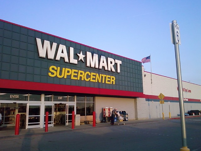 Iowa Independence Iowa Wall Sawing : Wal mart knoxville iowa store front yes there are
