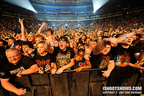 slipknot fans slipknot fans giving love to the nine on