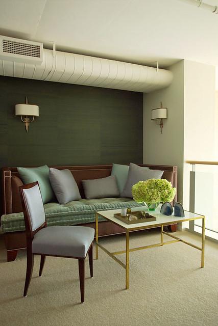 Frank Roop Modern Sophisticated Living Room I Love The