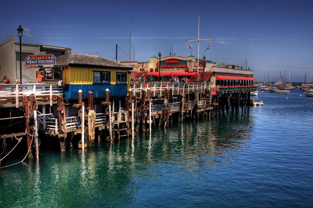 Monterey S Pier Best With B L A C K M A G I C Antonio