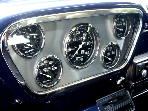 1954 Ford F-100 Dashboard | by JD Hancock