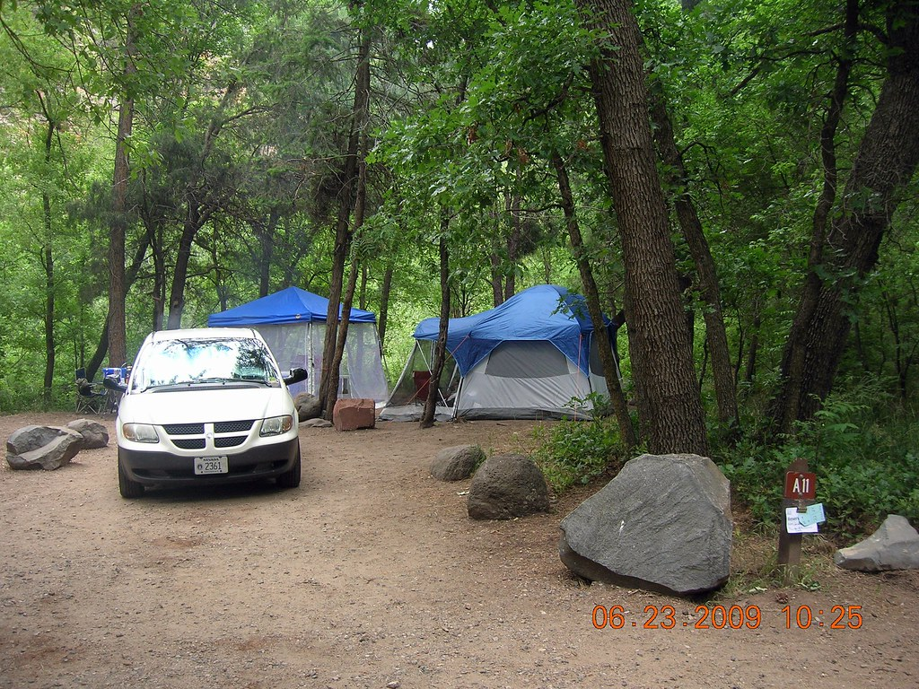 Cave springs campground sedona arizona 6 2009 campsite for Fishing license az walmart