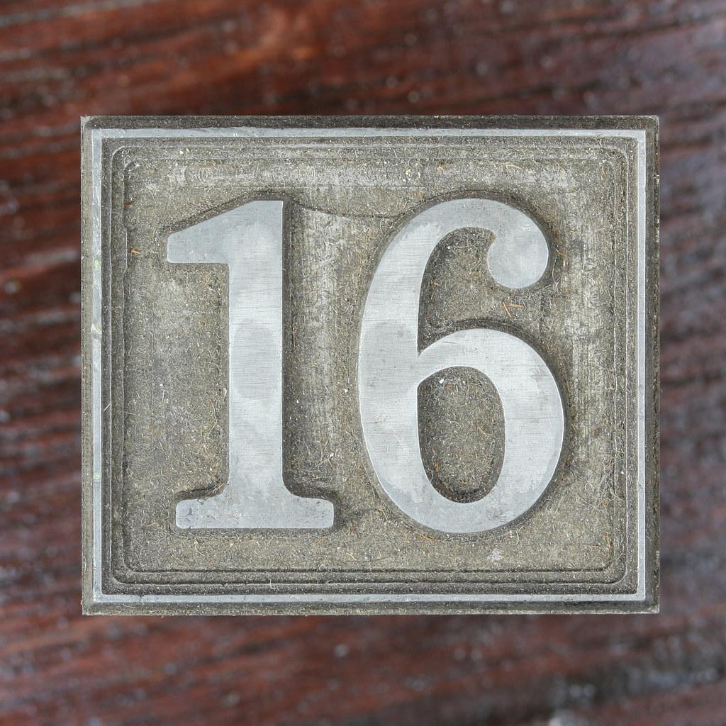 Calendar number 16 leo reynolds flickr for Number 16 house