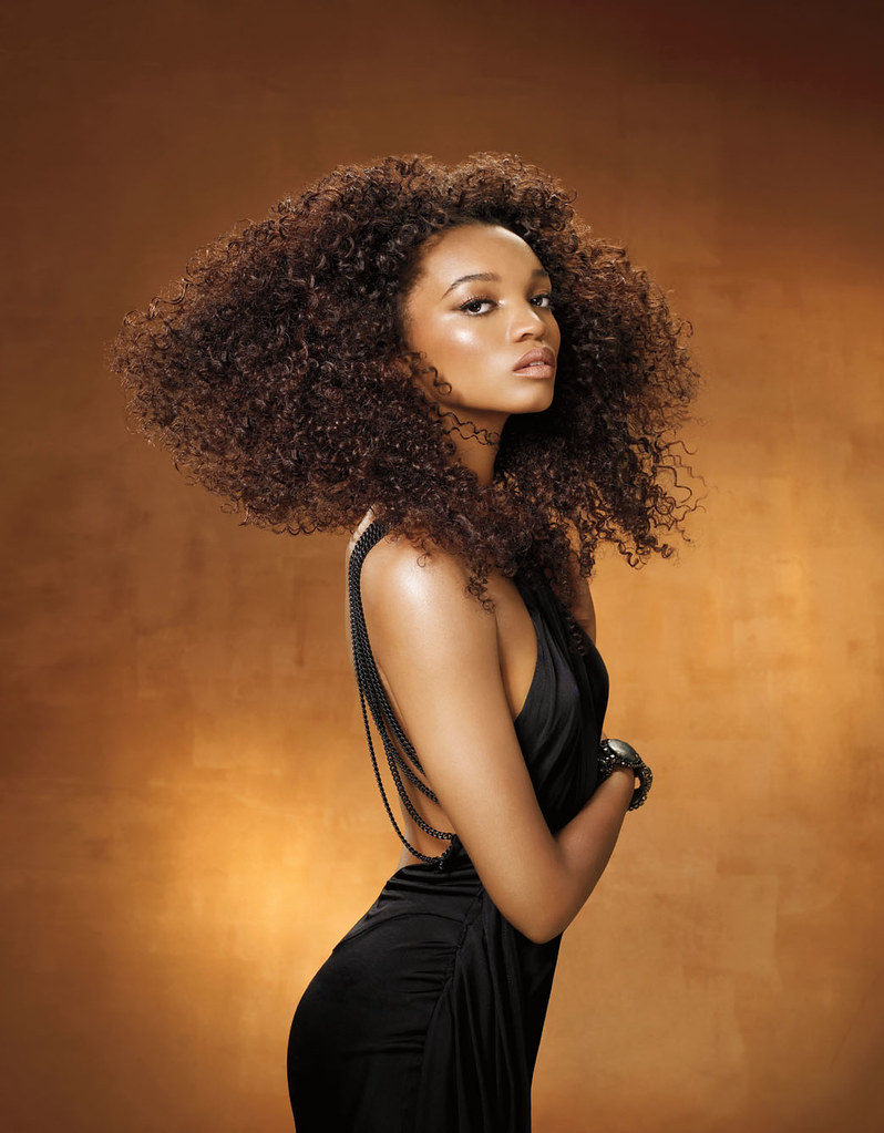 Long Afro Hairstyle By Mizani Check Out The Range Of