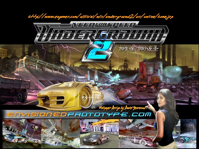 Envisioned Prototype Need For Speed Underground 2 Fan Wall Flickr