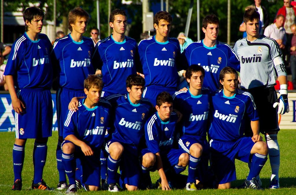 real madrid club de fútbol escalação (2009)