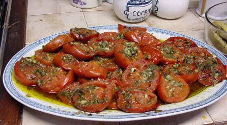 Pomodori alla provenzale garlic parsley just simple - Contorni di natale contorni gratis ...