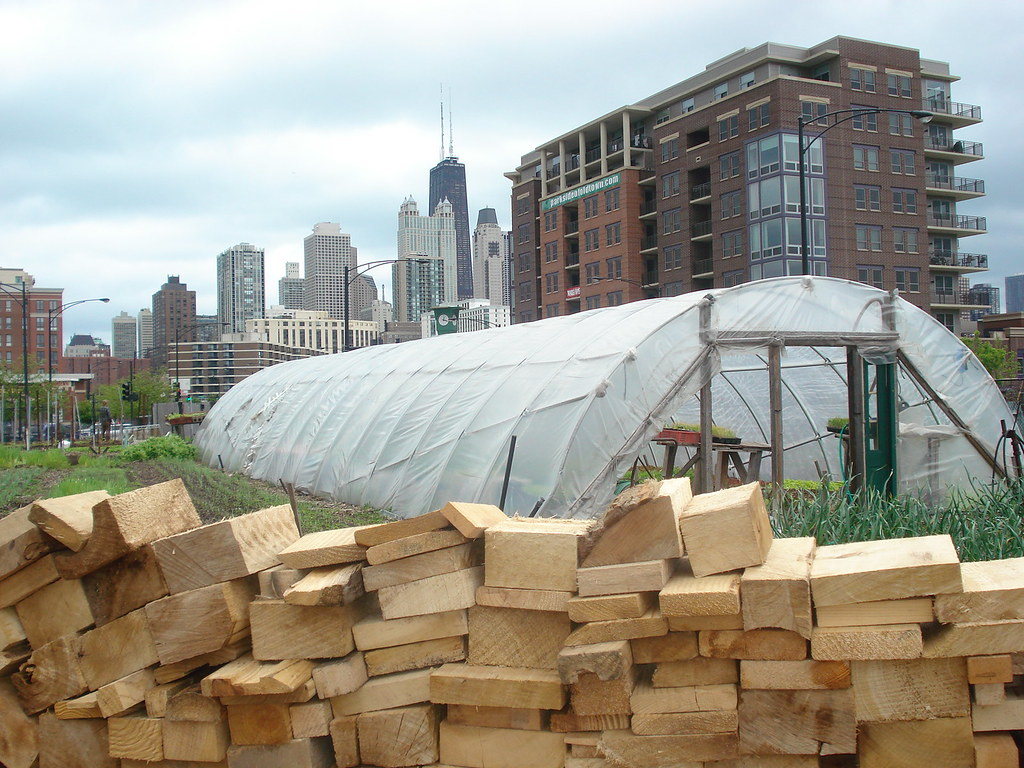 07 City Farm Chicago IL City Farm wood chips and Chicago s…