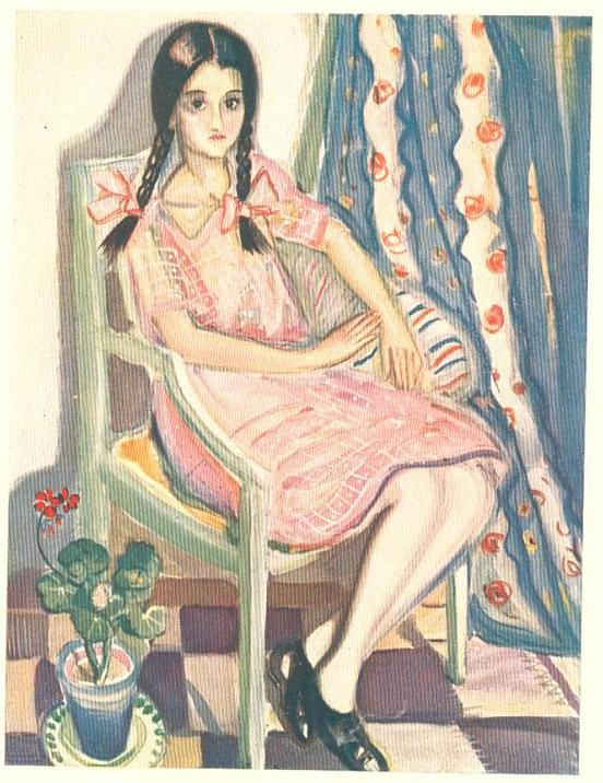 Contemporânea magazine, No. 6, Mily Possoz, watercolour, December 1922