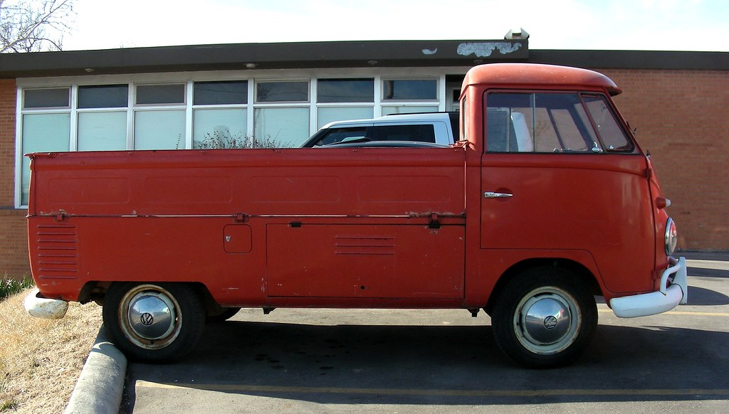 Volkswagen Type 2 Single Cab Truck | The 3 bedsides fold dow… | Flickr