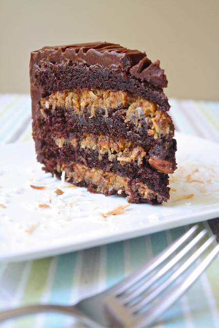 Inside Out German Chocolate Cake | Flickr - Photo Sharing!