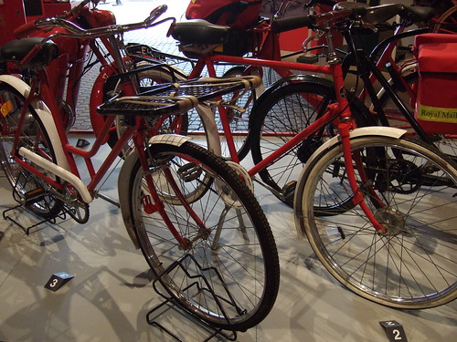 Bicycle display | by The Postal Museum