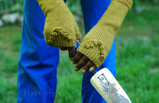 emerald mitts | by {a black pepper}