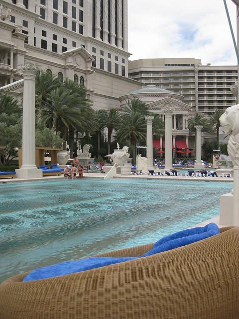Pool caesars palace flickr photo sharing for Caesars swimming pool