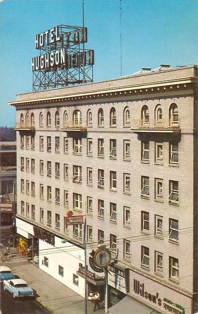Hotel Hughson Modesto Ca J Street This Hotel Has Been D Flickr